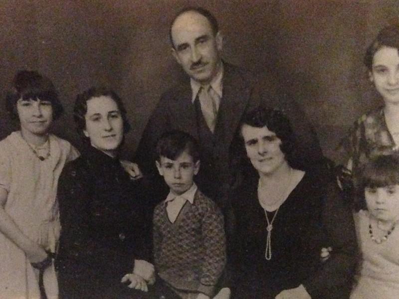 Learreta Echave family, Liverpool, 1930s