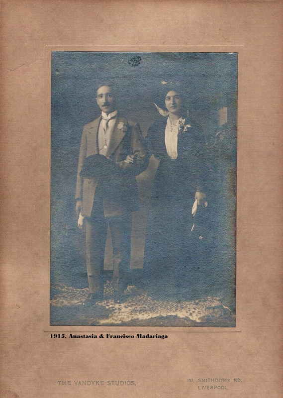 1915. Anastasia & Francisco Madariaga.  Van Dyke Studios, Smithdown Road, Liverpool.2 - Copy.jpg