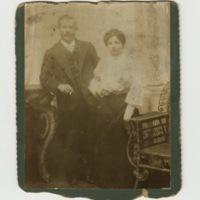 Micaela (nee Vilarelle) and Jose Viñas (Liverpool, c. 1907)