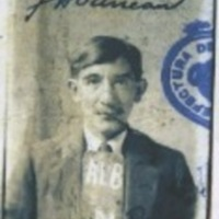 John de la Cruz (II), identity photograph from seaman's ticket (1926)